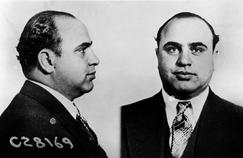 Al Capone est une grande figure de la mafia américaine. Photographie d'identité judiciaire datant de 1931.