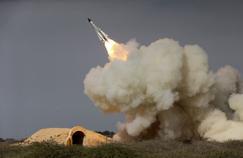 Le tir d'un missile S-200 par l'Iran, le 29 décembre 2016. (Photo diffusée par l'agence semi-officielle iranienne ISNA.)