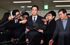 Le patron de Samsung, Lee Jae-yong, a été incarcéré vendredi.