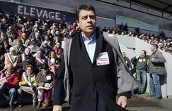 Xavier Beulin en avril 2013 avant un meeting.