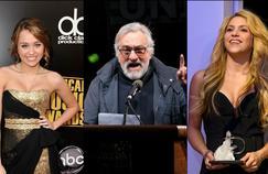 Miley Cirus, Robert De Niro, Shakira et bon nombre de personnalités de la culture s'en sont ouvertement pris à Donald Trump.