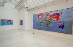 Magnifique exposition dédiée à Alighiero Boetti à Paris