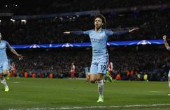 Leroy Sané, auteur du 5e but des Citizen