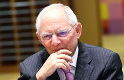 Wolfgang Schäuble, ministre des Finances allemand.