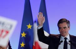 François Fillon en meeting à Maisons-Alfort, vendredi soir.