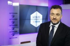 Gérald-Brice Viret, l'invité du Buzz Media Le Figaro Paris le 23 février.