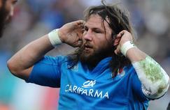 Castro Giovanni sous les couleurs de la sélection italienne