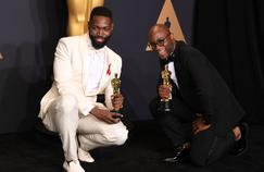 Tarell Alvin McCraney, scénariste du meilleur film de 2016 et Barry Jenkins, son réalisateur.