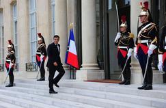 François Fillon à l'Élysée, le 1er septembre 2011.