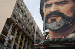 La fresque murale de Diego Armando Maradona