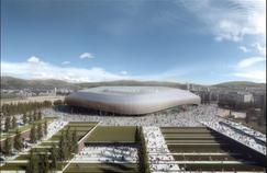 Le futur stade de la Fiorentina d'ici 2021. Source: Twitter officiel de la Fiorentina