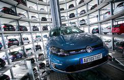 Volkswagen a vendu 10,3 millions de véhicules dans le monde l'an dernier.