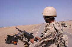 Un soldat yéménite près de la Mer Rouge, à al-Mokha (Yémen), en janvier.