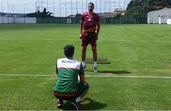 Bruno Fernandes, sous les couleurs de Boa Esporte. Crédit photo: Régis Melo