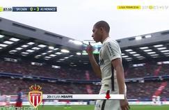 Kylian Mbappé quitte la pelouse sous les applaudissements de tout le stade Michel d'Ornano.