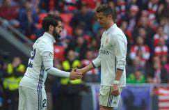 Cristiano Ronaldo, déçu au moment de sa sortie contre l'Athletic Bilbao (1-2) à la 79e minute de jeu