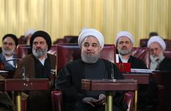 Hassan Rohani, le président de l'Iran, à l'Assemblée des experts.