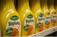 La marque de jus de fruits Tropicana représente 30% des ventes de PepsiCo en France.