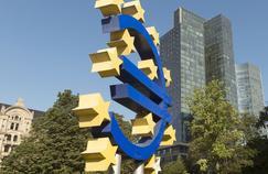 La Banque centrale européenne, à Francfort.