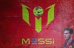 Les affichettes Messi qui servaient à dissimuler la drogue.