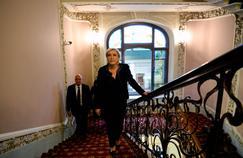 Marine Le Pen, à Moscou, le 24 mars.