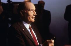 François Mitterrand, en avril 1988, lors du débat de l'entre deux tour.