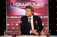 François Baroin sur le plateau du «Grand Jury», le 26 mars 2017.