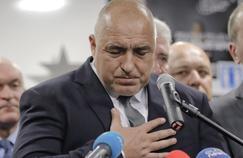 Boïko Borissov, vainqueur des législatives bulgares dimanche, quatre mois après avoir démissionné.
