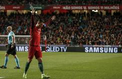 Cristiano Ronaldo, après son but contre la Hongrie en éliminatoire contre la Hongrie pour la Coupe du monde 2018
