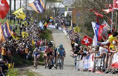 Le public massé le long du tracé du Tour de Flandres en 2016.