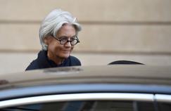 Penelope Fillon à Paris, lundi 27 mars.