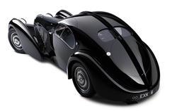 Pour dessiner la Chiron,les designers se sont inspirésdu mythique coupé 57SC Aerolithe dit «Atlantic», considéré commel'une des plus belles voituresdu monde.