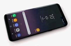 Le Samsung Galaxy S8 et son grand écran.
