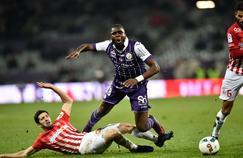 Odsonne Edouard avec Toulouse face à Nancy en décembre 2016.