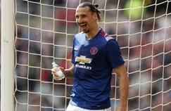 Zlatan Ibrahimovic, impressionnant avec Manchester United face à Sunderland dimanche.