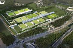 Les premières images du futur centre d'entraînement dévoilées par RMC Sport.