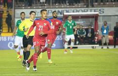 Amilcar Henriquez, sous le maillot du Panama
