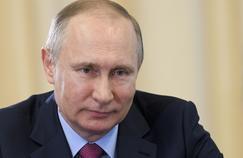 Vladimir Poutine la 13 avril 2017.