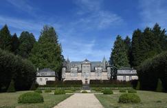 Le château de Bity, en Corrèze, que Jacques Chirac a acquis en 1969.