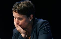 Frauke Petry, la chef de file de l'Alternative für Deutschland, a été désavouée ce samedi au congrès de Cologne.