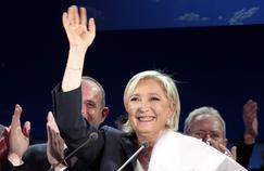 Marine Le Pen à Hénin-Beaumont ce dimanche 23 avril