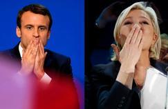 Emmanuel Macrno et Marine Le Pen se sont qualifiés pour le second tour de la présidentielle.