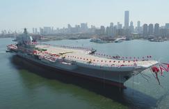Pékin inaugure un deuxième porte-avions, conçu et fabriqué en Chine