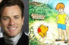 Ewan McGregor jouera dans l'adaptation live de Winnie L'ourson