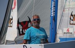 Yvan Bourgnon sur son bateau