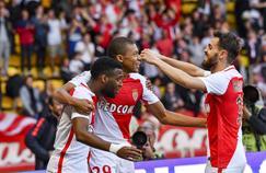 Le trio infernal de l'attaque monégasque: Lemar, Silva, Mbappé