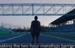 Un clip, un défi face à l'un des barrières chronométriques les plus mythiques du monde du sport.