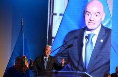 Gianni Infantino, président de la FIFA depuis 2016