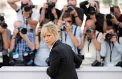 Marina Foïs, le 22 mai au festival de Cannes: «Mes choix correspondent à mes goûts cinématographiques. Je suis très spectatrice, pas cinéphile, je n'ai pas un savoir encyclopédique.»