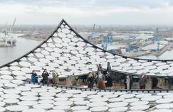 Hambourg: lamélodie du port